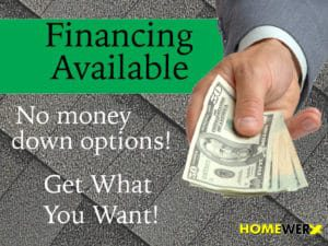 New Roof Financing Options